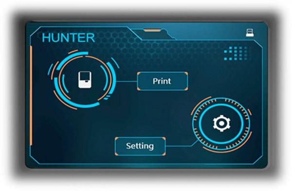 Flashforge HUNTER - LCD Touchscreen