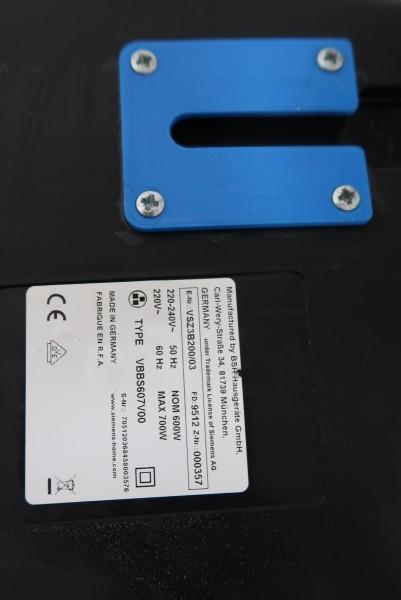 Staubsaugerhalterung Siemens z 3.0